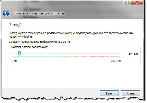 VirtualBox RAM