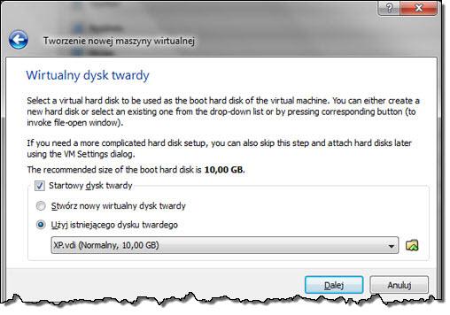 VirtualBox krok po kroku