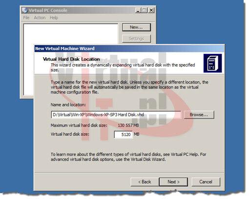 Virtual Hard Disk