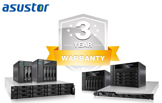 Asustor Warranty 3 Year