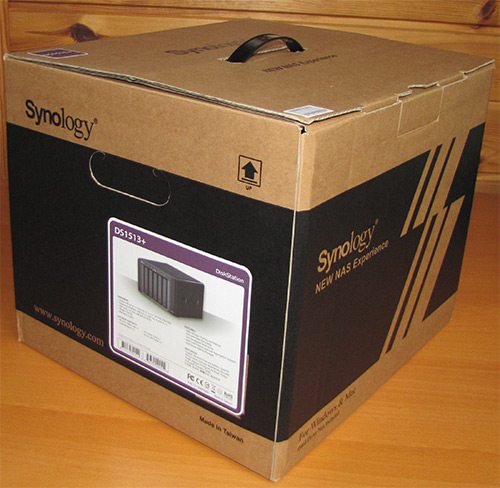 Synology DS1513+ Box
