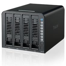 Thecus N4310 - test czterokieszeniowego serwera NAS