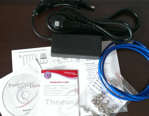 Thecus N4310 Akcesoria