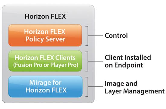 vmware horizon flex schemat