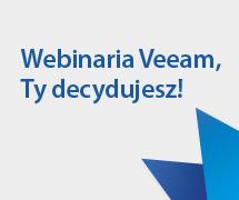 Wybierz temat webinarium Veeam