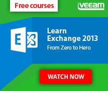 Poznaj Microsoft Exchange z Veeam