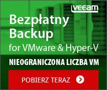 Bezpłatny Backup dla VMware i Hyper-V
