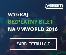 Wygraj Bzpłatny Bilet od Veeam na VMworld 2016