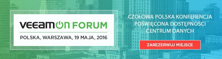 VeeamON Forum - konferencja na której nie może Cię zabraknąć
