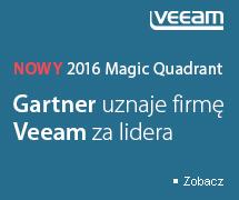 Veeam Liderem w Magicznym Kwadrancie Gartnera