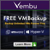 Vembu Free VMBackup