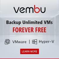 Vembu Backup VM Free Forever