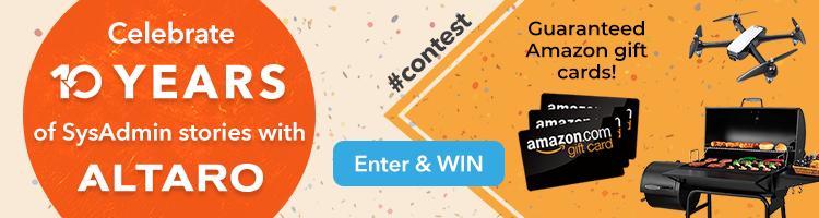 Altaro SysAdmin Day contest